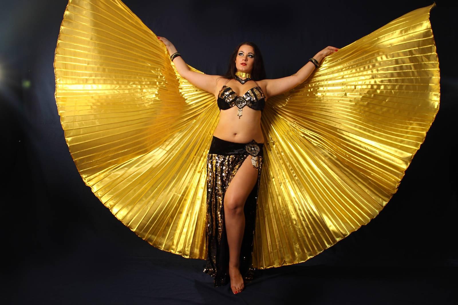 Что нужно знать о крыльях для танца живота!